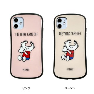 <img class='new_mark_img1' src='https://img.shop-pro.jp/img/new/icons50.gif' style='border:none;display:inline;margin:0px;padding:0px;width:auto;' />iPhone HYBRID GLASS CASE CHARACTER(おでこ取れちゃったくん)