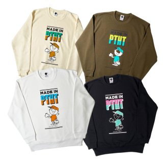 <img class='new_mark_img1' src='//img.shop-pro.jp/img/new/icons50.gif' style='border:none;display:inline;margin:0px;padding:0px;width:auto;' />MADE IN PTHT CREWNECK SWEAT