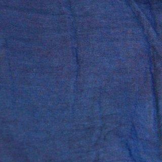 【1m単位】藍色/藍染/知多木綿 ダブルガーゼ