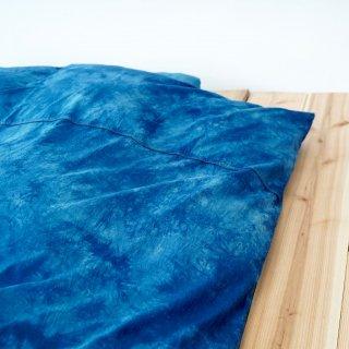 ダブルサイズ布団カバー3点セット/藍染2カラー/三河織物