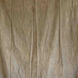 【1m単位】グレー/柿渋染め/三河織物 綿平織り