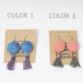 クッキー/ピアスorイヤリング/三河織物