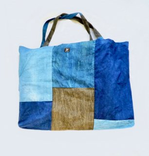 お昼寝布団バッグ/藍染/三河帯芯