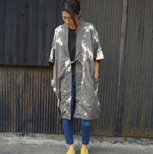 カジュアル羽織り/五月雨/三河織物