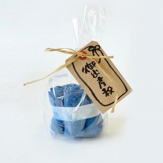 口拭きガーゼハンカチセット/本藍染/知多木綿 ガーゼ