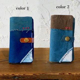 パッチワークiPhoneケース/三河織物