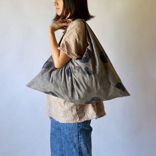 肩掛けあずま袋バッグ 鹿の子/2カラー/三河織物