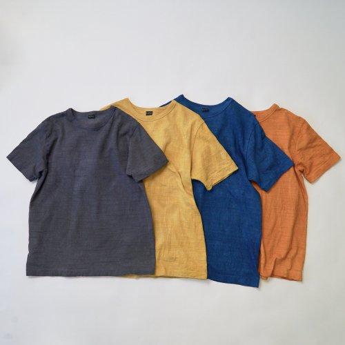 吊り編みスラブTシャツ/3カラー/和歌山県産 ニット編生地