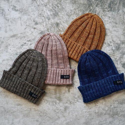 和紙ニット帽/4カラー/美濃和紙糸