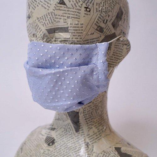 ダイヤ柄マスク/三河織物 知多木綿