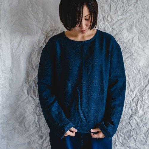 トレーナー/ひし形2カラー/三河織物