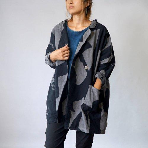 コクーンジャケット-KEMURI-/三河織物
