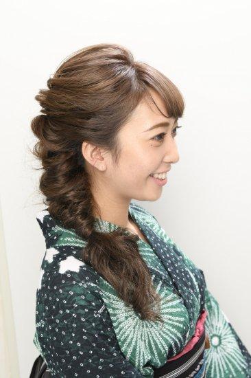 浴衣、フェス…夏のヘアスタイル撮影♪【画像2】