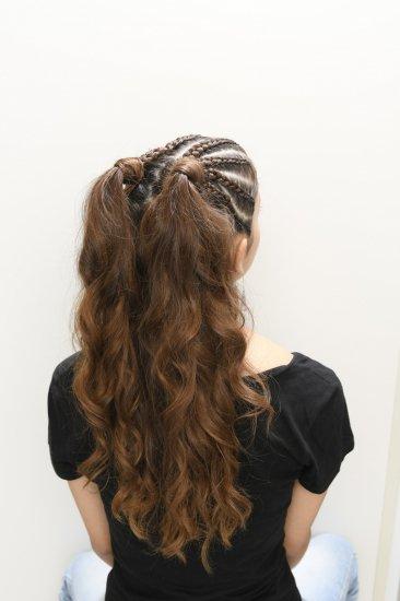 浴衣、フェス…夏のヘアスタイル撮影♪【画像4】
