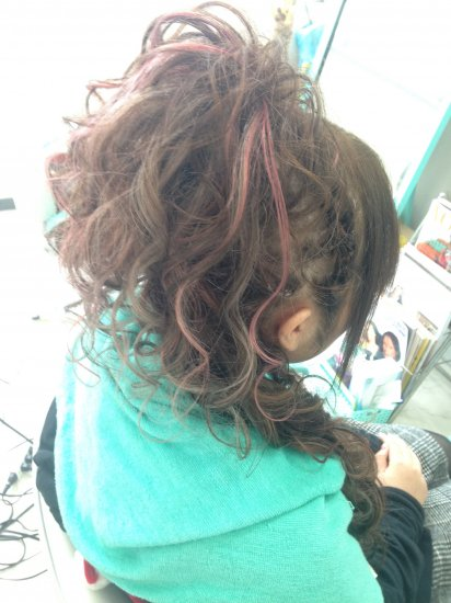 盛り髪ヘアセット【画像2】