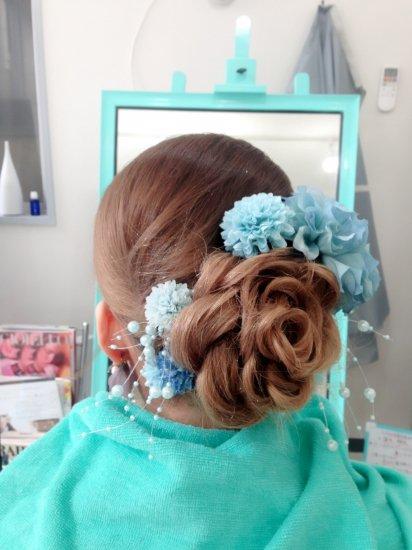 成人式のヘアセット【画像3】