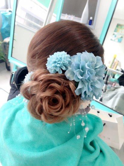 成人式のヘアセット【画像4】