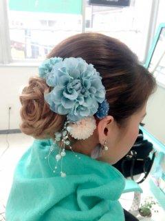 ギャラリー 成人式のヘアセット