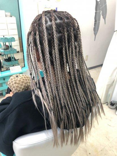 ブラックヘアニュアンスのヘアセット90分【画像2】