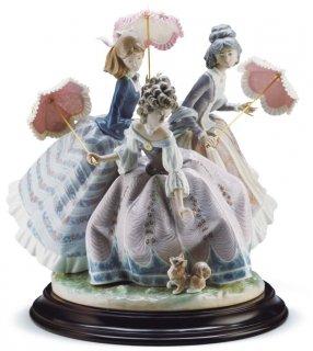リヤドロ 人形  『三姉妹  01001492 THREE SISTERS』