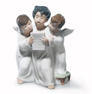リヤドロ 人形  『天使のコーラス  01004542 ANGELS' GROUP』