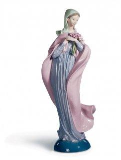 リヤドロ 人形  『花を持つマリア  01005171 OUR LADY WITH FLOWERS』