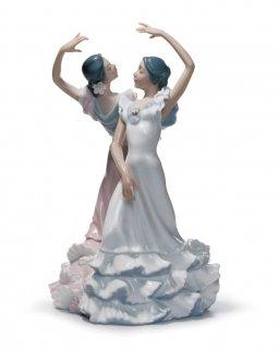 リヤドロ 人形  『情熱の踊り  01005601 OLE』