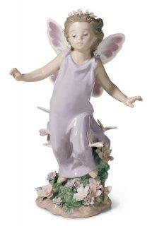 リヤドロ 人形  『蝶の妖精  01006875 BUTTERFLY WINGS』