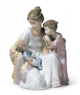 リヤドロ 人形  『新しい家族  01006939 WELCOME TO THE FAMILY』