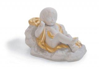 リヤドロ 人形  『イエス生誕(Re-Deco)   01007087 BABY JESUS (RE-DECO)』