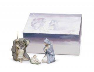 リヤドロ 人形  『聖なる夜 ギフトセット  01007804 SILENT NIGHT GIFT BOX (PORCELAIN) 』