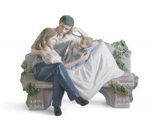 リヤドロ 人形  『家族の絆  01008056 A PRICELESS MOMENT』