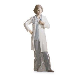 リヤドロ 人形  『頼れるドクター  01008189 FEMALE DOCTOR』