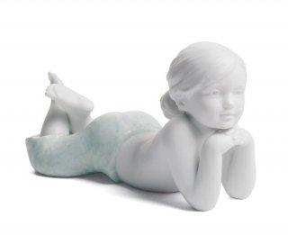 リヤドロ 人形  『家族の愛(お姉ちゃん)  01008405 THE DAUGHTER』