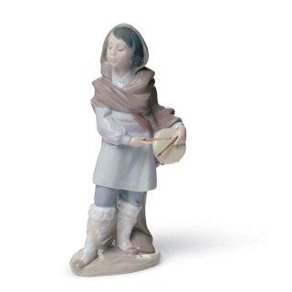 リヤドロ 人形  『太鼓をたたく少年  01008415 DRUMMER BOY』