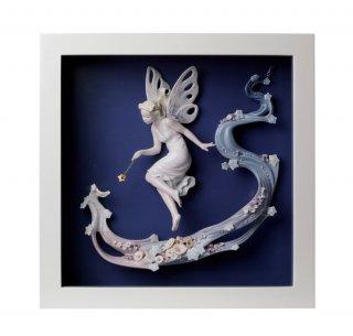リヤドロ 人形  『妖精の祈り  01008448 TABLEAU CHARME DE F?E』