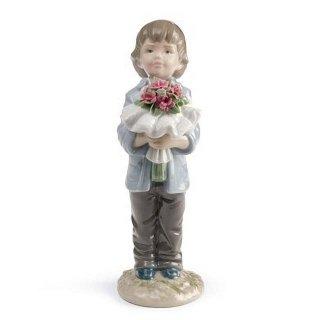 リヤドロ 人形  『一番好きなあなたへ  01008504 YOU DESERVE THE BEST (BOY) 』