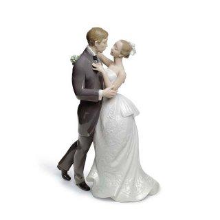 リヤドロ 人形  『愛のワルツ  01008509 LOVERS' WALTZ』