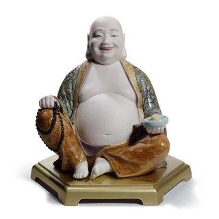 リヤドロ 人形  『弥勒仏  01008566 HAPPY BUDDHA』