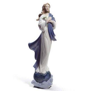 リヤドロ 人形  『喜びのマリア  01008642 BLESSED VIRGIN MARY』