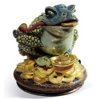 リヤドロ 人形  『三脚蛙  01008660 HOPTOAD』