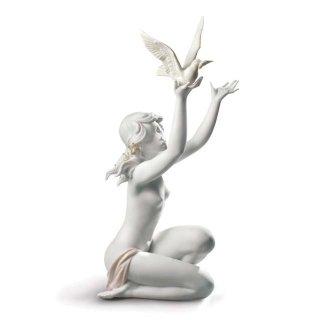 リヤドロ 人形  『平和を求めて(グレス)  01008799 PEACE OFFERING』