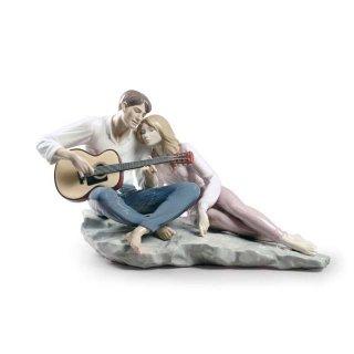 リヤドロ 人形  『歌う二人  01009198 OUR SONG』