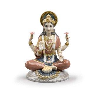 リヤドロ 人形  『ラクシュミ  01009229 Goddess Sri Lakshmi』