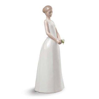 リヤドロ 人形  『ウェディングデイ  01009262 WEDDING DAY』