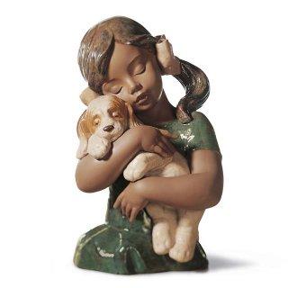リヤドロ 人形  『とっても好きよ  01012355 GABRIELA』