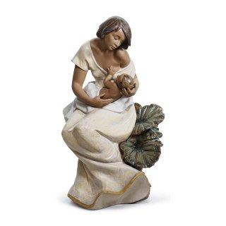 リヤドロ 人形  『母子の絆  01012514 A BEAUTIFUL BOND』
