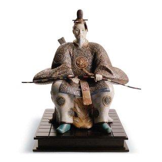 リヤドロ 人形  『守護者�台座付  01012521 JAPANESE NOBLEMAN II』