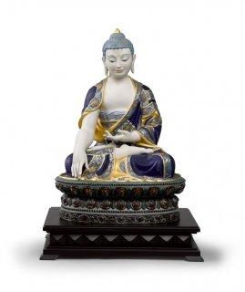 リヤドロ 人形  『釈迦牟尼仏(GOLD)  01012526BOUDDHA SHAKYAMUNI (GOLD)』