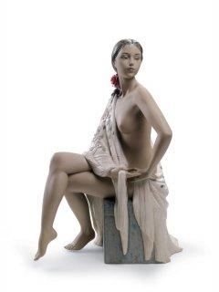 リヤドロ 人形  『セビリアの娘  01012536 NUDE WITH SHAWL』